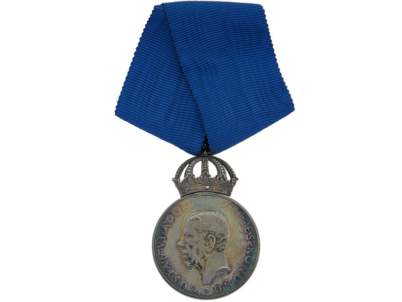 eMedals-His Majesty The King's Medal, Gustav VI, 1952