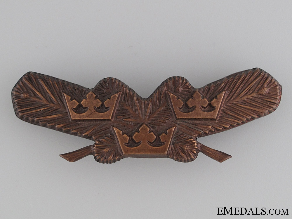 eMedals-Swedish Air Force Pilot's Badge