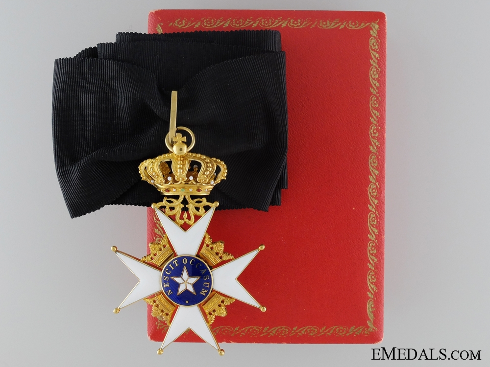 eMedals-Swedish Order of the North Star in Gold; Cased