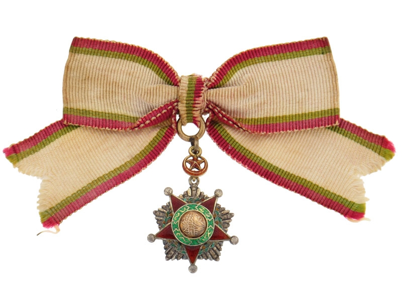 eMedals-Order of Nishani-Shefkat (Charity or Chastity)