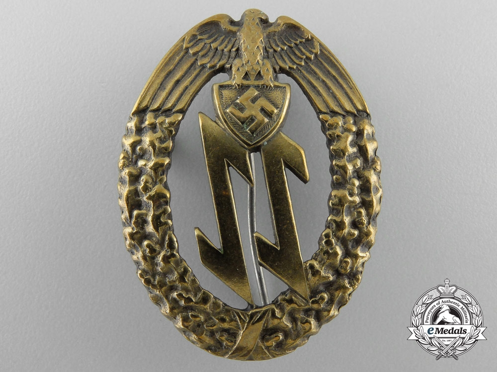 eMedals-A Badge of the Croatian/German Einsatzstaffel (ES) ES Units