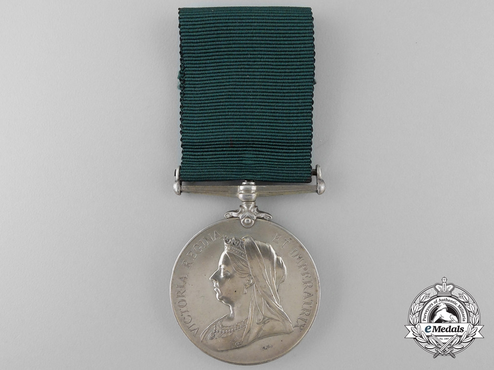 eMedals-A Colonial Auxiliary Forces Long Service Medal to the Q.M. of 3rd Regiment