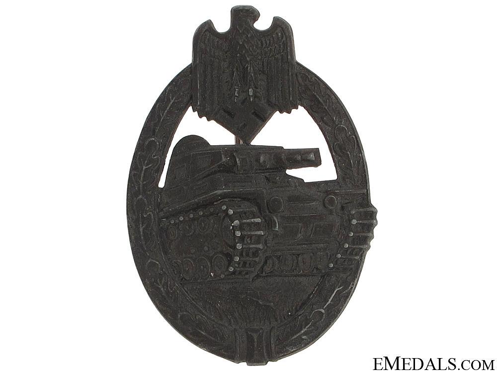 eMedals-Tank Badge – Silver Grade, H. Aurich