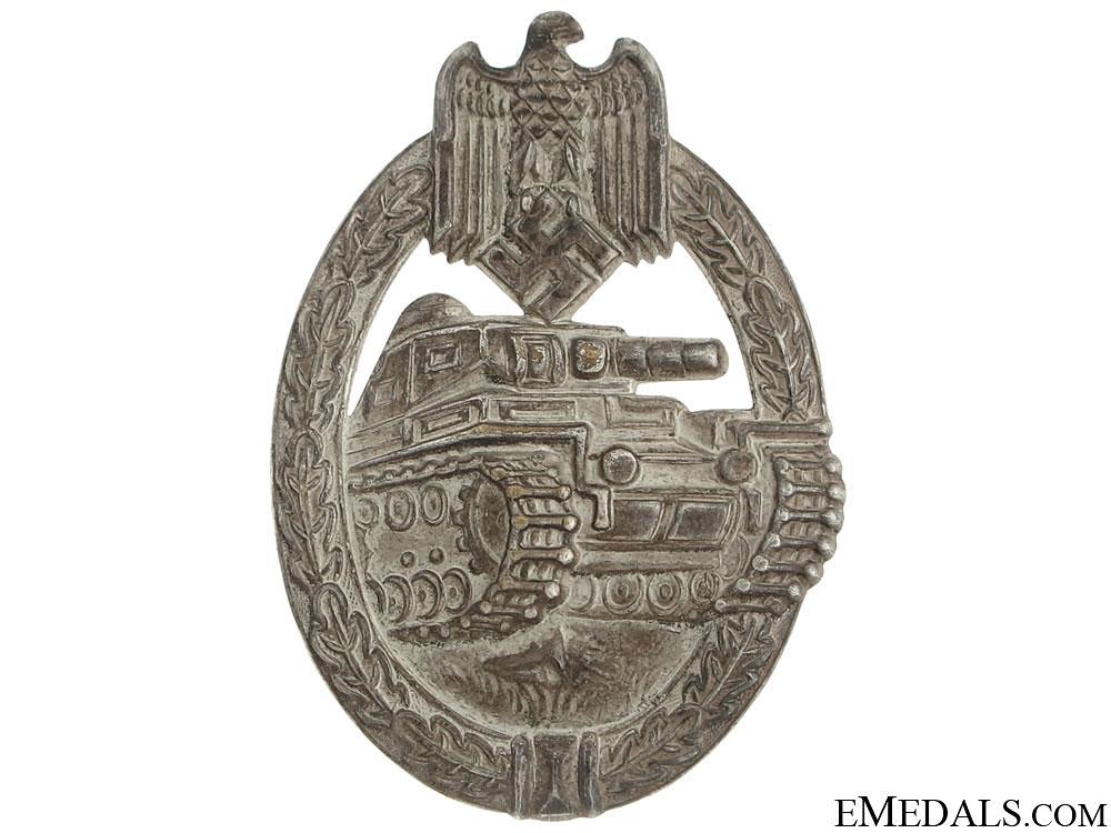 "eMedals-Tank Badge ""¢¤ Silver Grade"