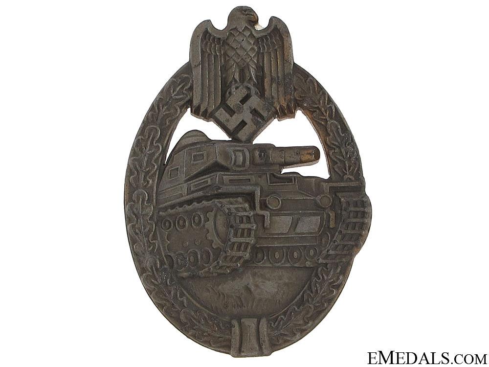eMedals-Tank Badge - Bronze Grade