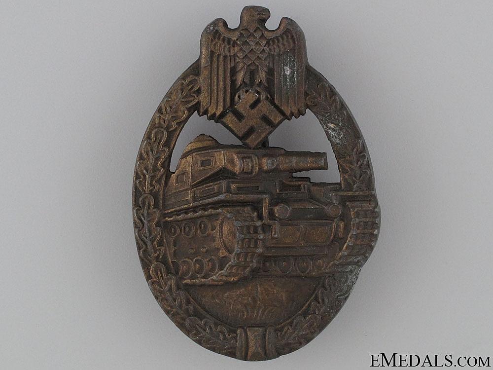 eMedals-Tank Badge - Bronze Grade by EWE
