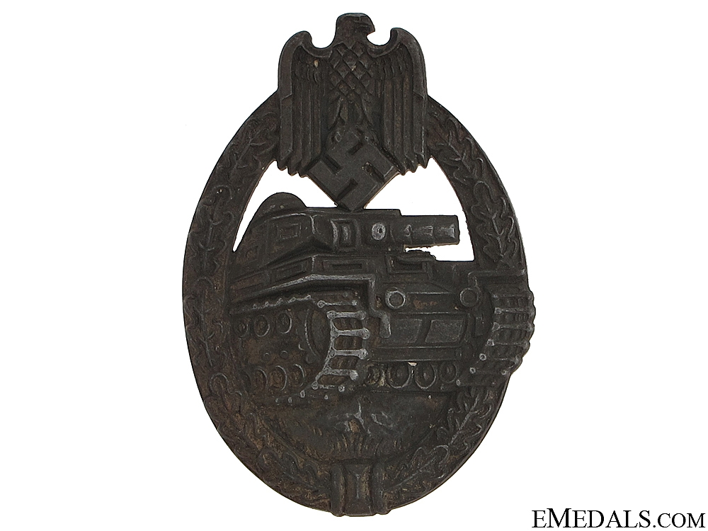 eMedals-Tank Badge - Rudolf Richter, Schlag