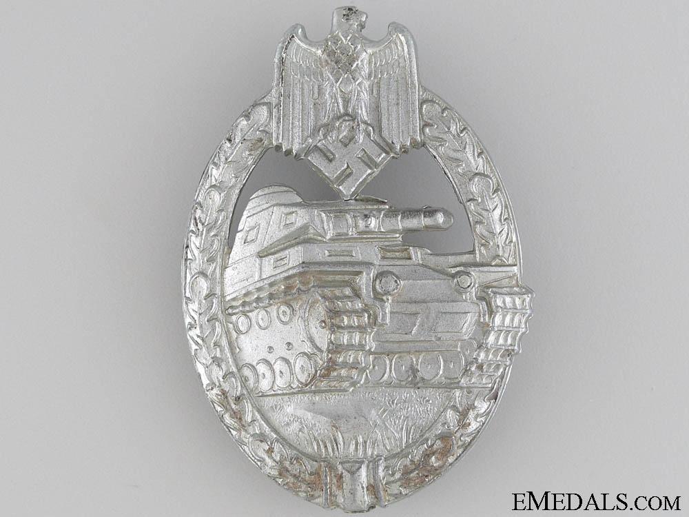 eMedals-Tank Badge - Silver Grade