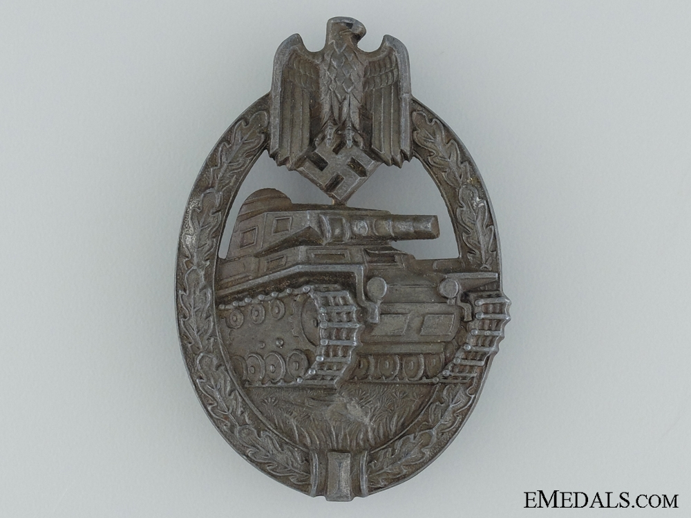 eMedals-Tank Badge; Bronze Grade by Aurich
