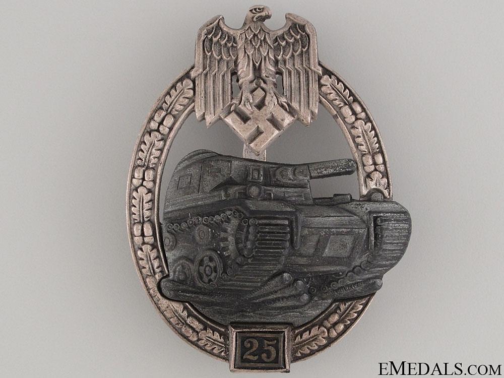 eMedals-Tank Badge Grade II – Silver Grade, JFS