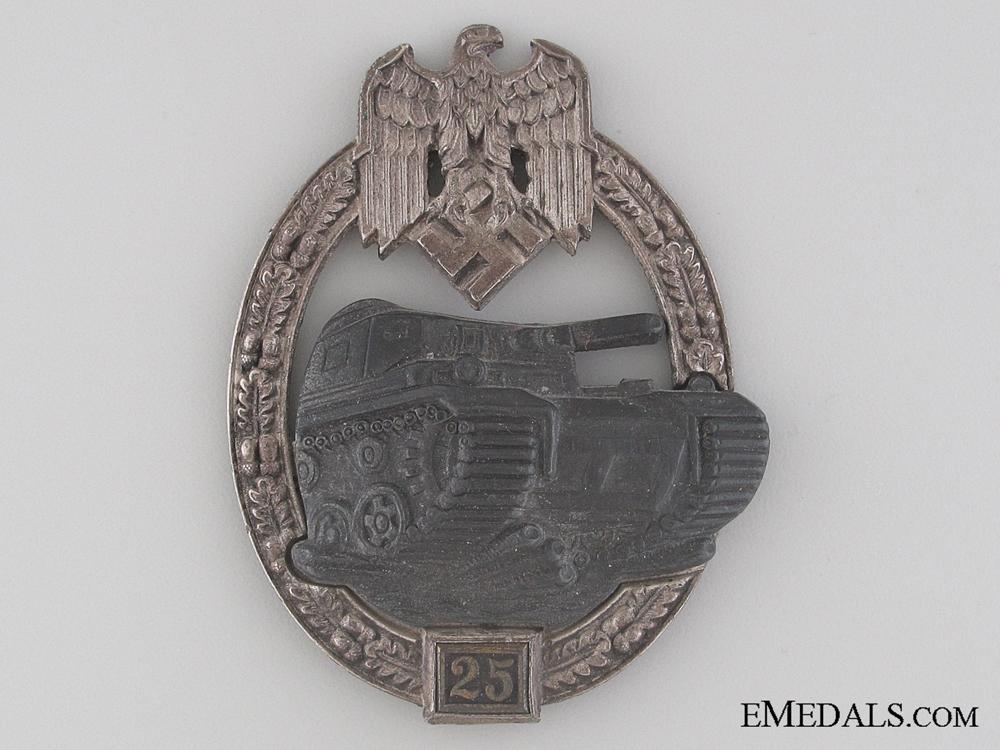 eMedals-Tank Badge Grade II – Silver Grade by JFS