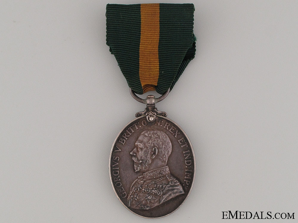 eMedals-Territorial Efficiency Medal - Sgt. Mjr. Crease