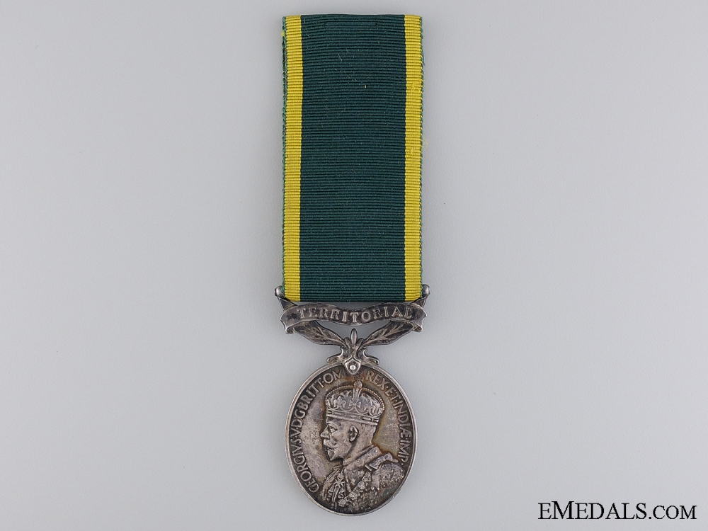 eMedals-Territorial Force Efficiency Medal to the 6th Cameronia's Reg.