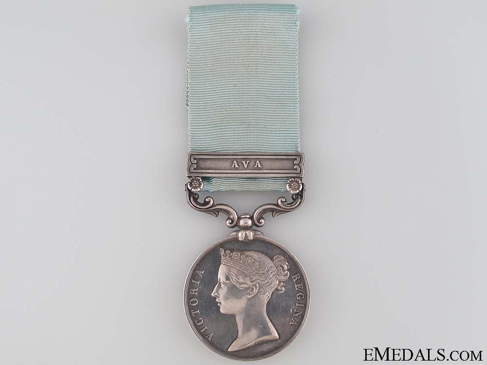 eMedals-The Army of India Medal to Captain Townsend