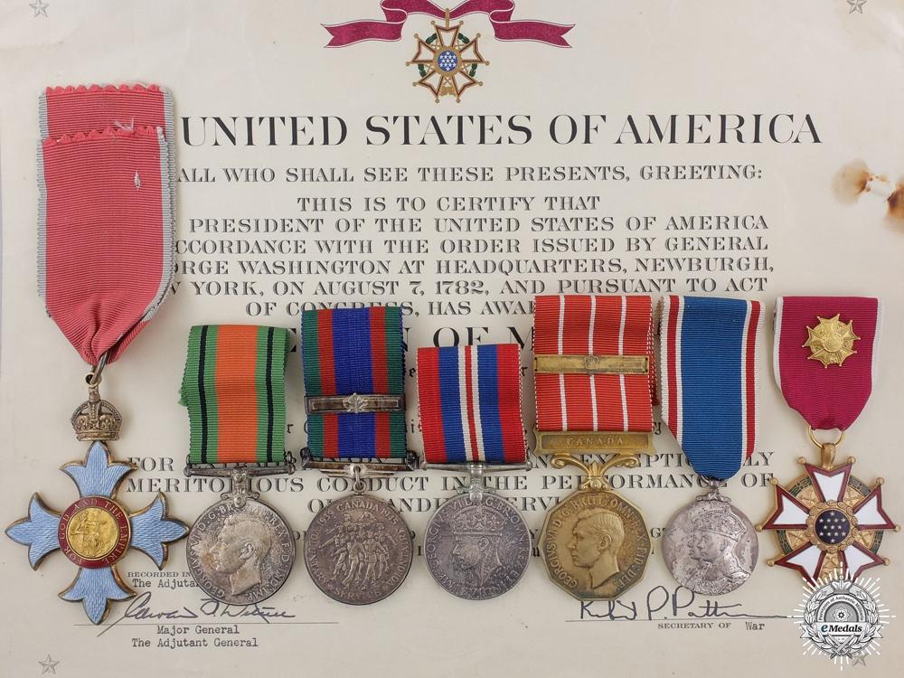eMedals-The Award of Major-General D.E.Dewar CBE CD; Canadian Army