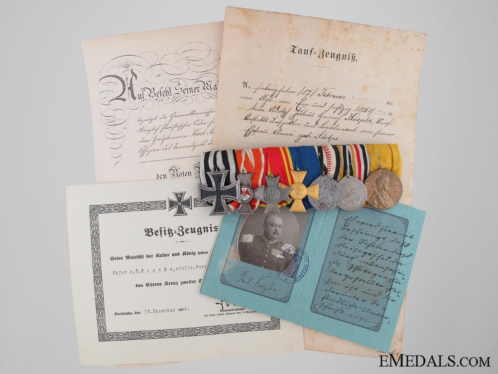 eMedals-The Awards & Documents Group to Major Koepke