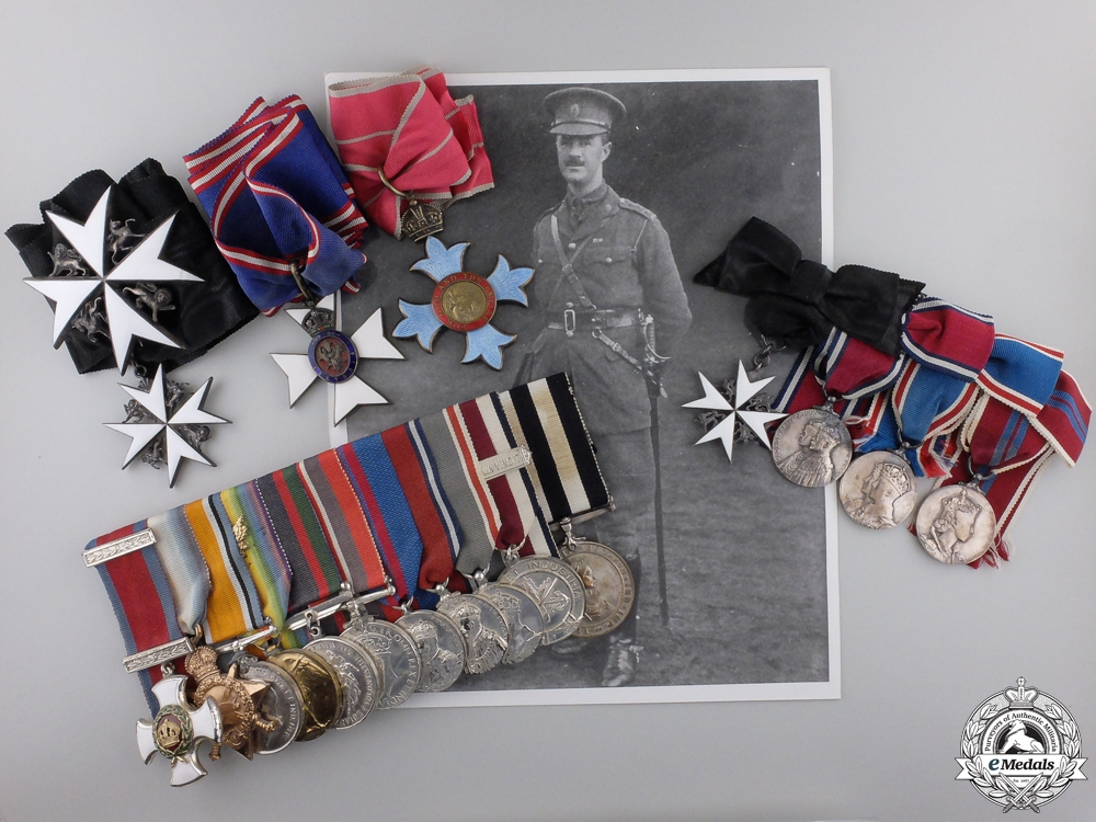 eMedals-The Awards of Col.Willis O'Connor, ADC to General Currie