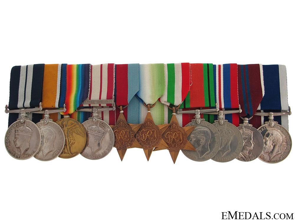 eMedals-The Awards of J.R. Melrose - Anzic landings DSM