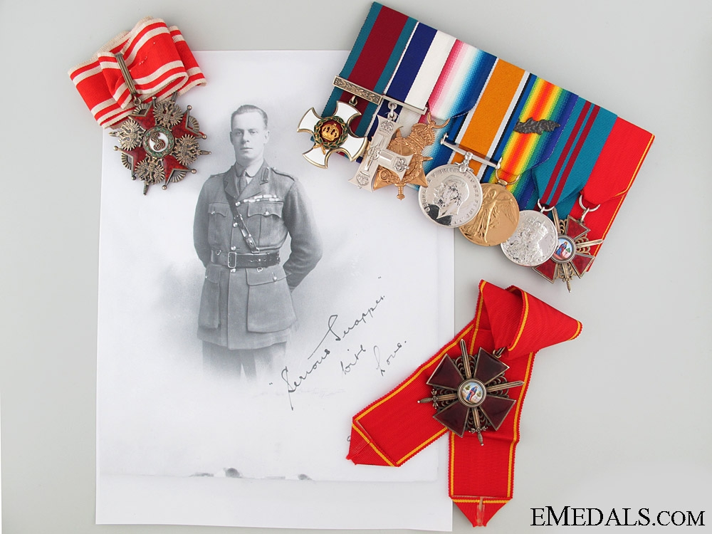 eMedals-A Canadian North Russia Operations D.S.O. & Great War M.C. Group