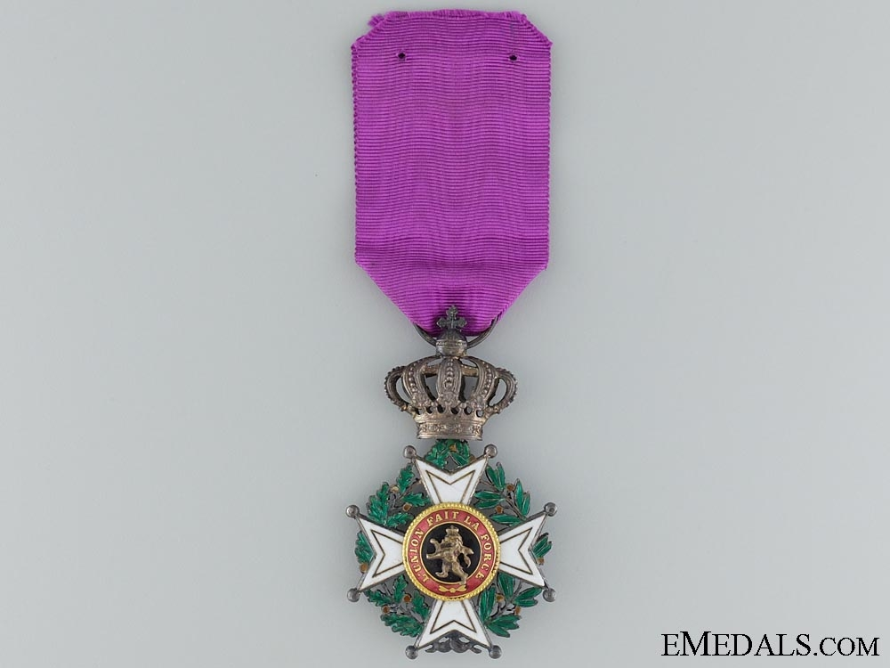 eMedals-The Belgian Order of Leopold; Civil Division