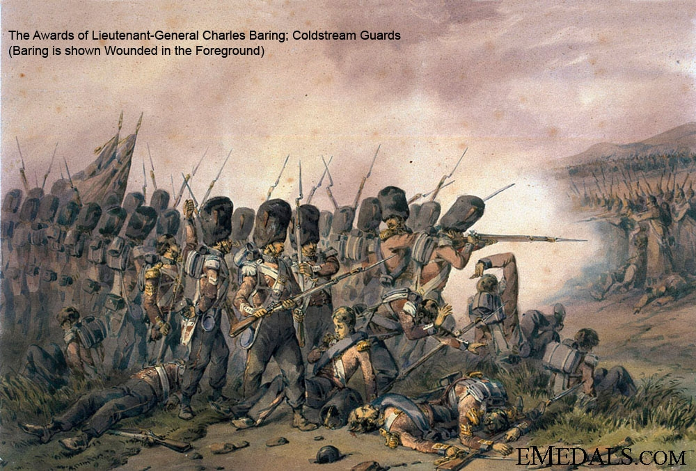 eMedals-The Crimea War Awards of Lieut-General Baring who was wounded at the Battle of Alm