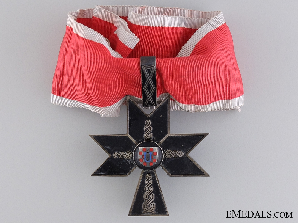 eMedals-The Croatian Order of the Iron Trefoil; First Class
