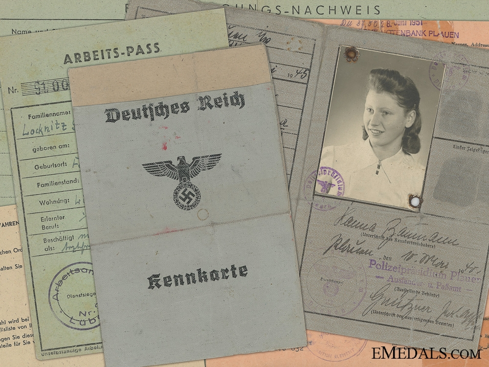 eMedals-The Documents of Hanna Locknitz 1942