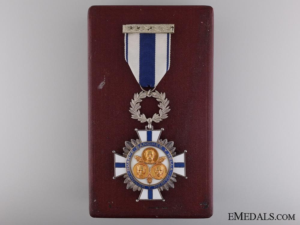 eMedals-The Dominican Order of Merit of Duarte, Sanchez and Mella