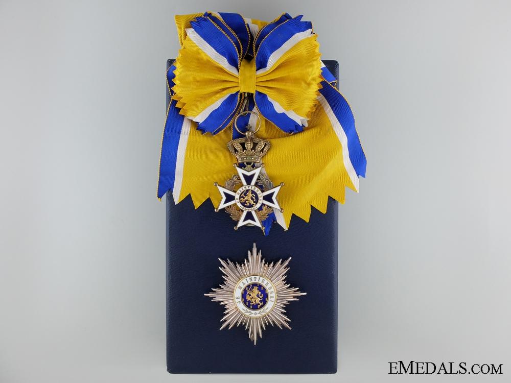 eMedals-The Dutch Order of Orange Nassau; Grand Cross