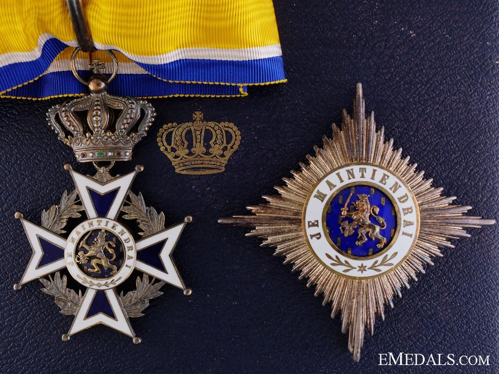 eMedals-The Dutch Order of Orange-Nassau; Second Class Set