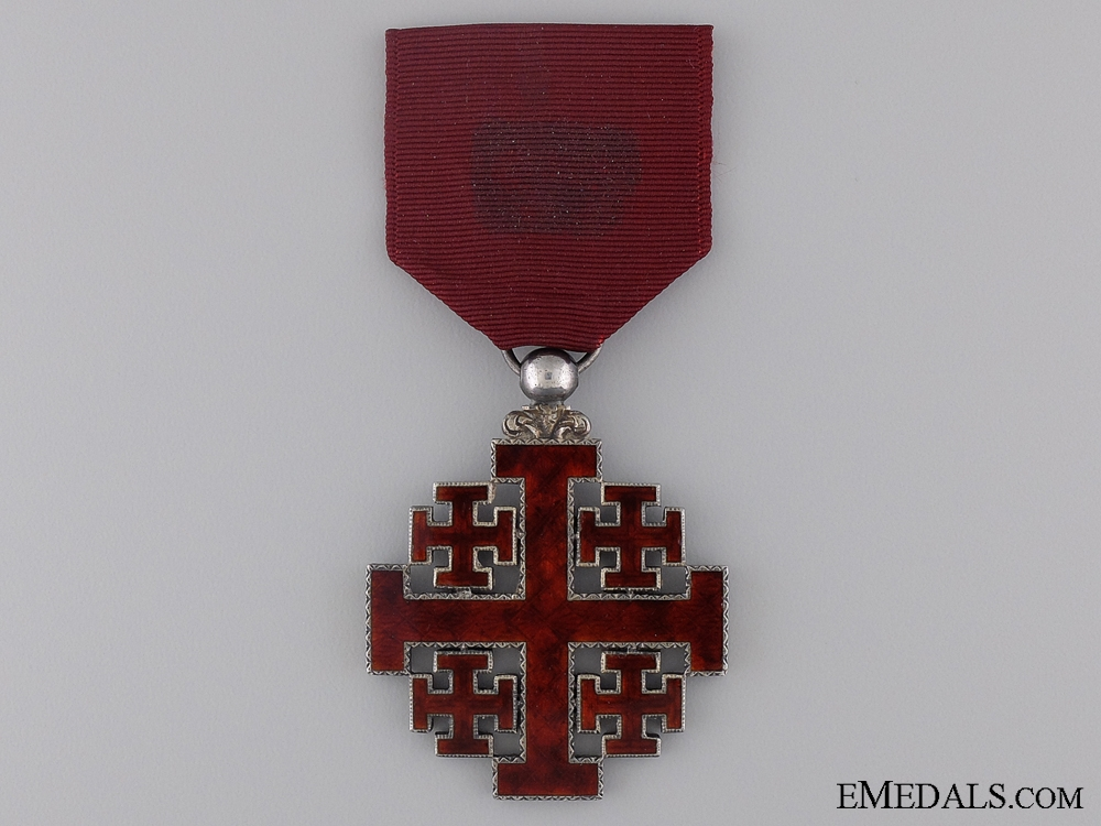 eMedals-The Equestrian Order of the Holy Sepulchre of Jerusalem