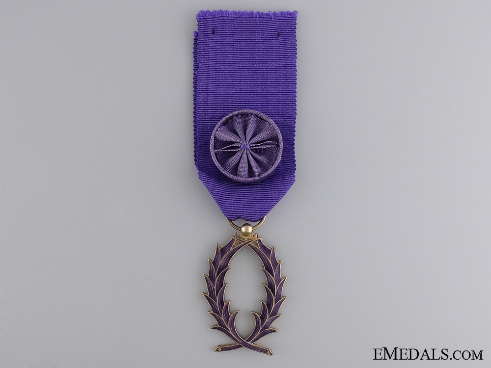 eMedals-The French Order of the Academic Palms; Officer