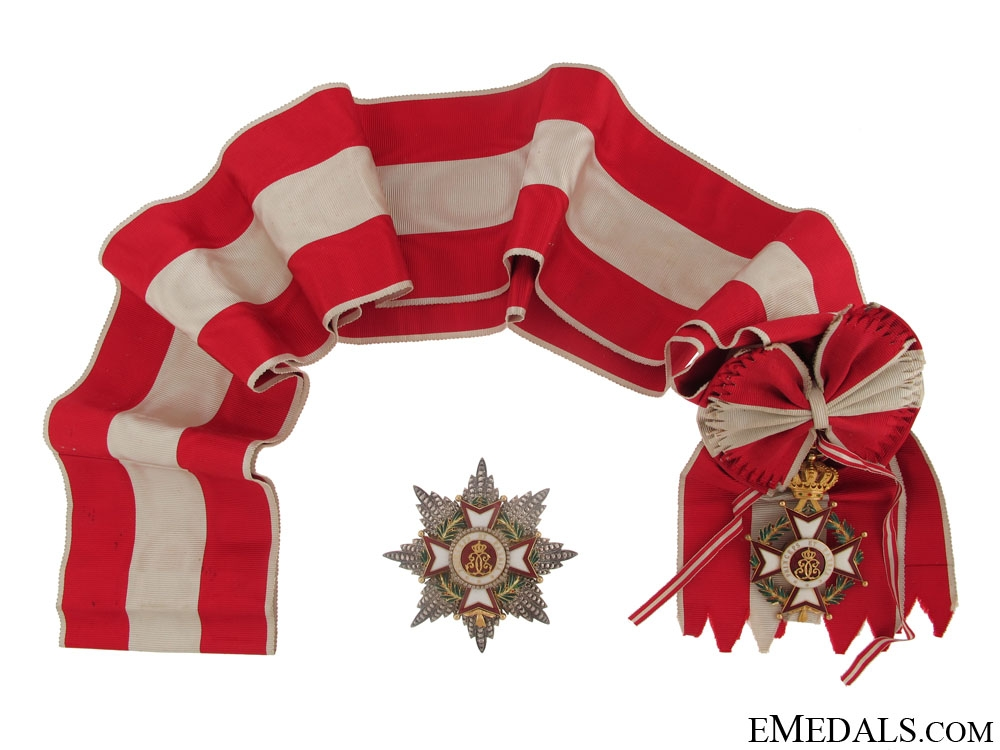 eMedals-The Grand Cross of the Order of St.Charles