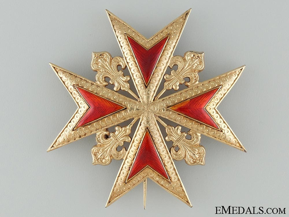 eMedals-The Grand Duchy of Tuscany's Order of Saint Stephen; Second Class Star