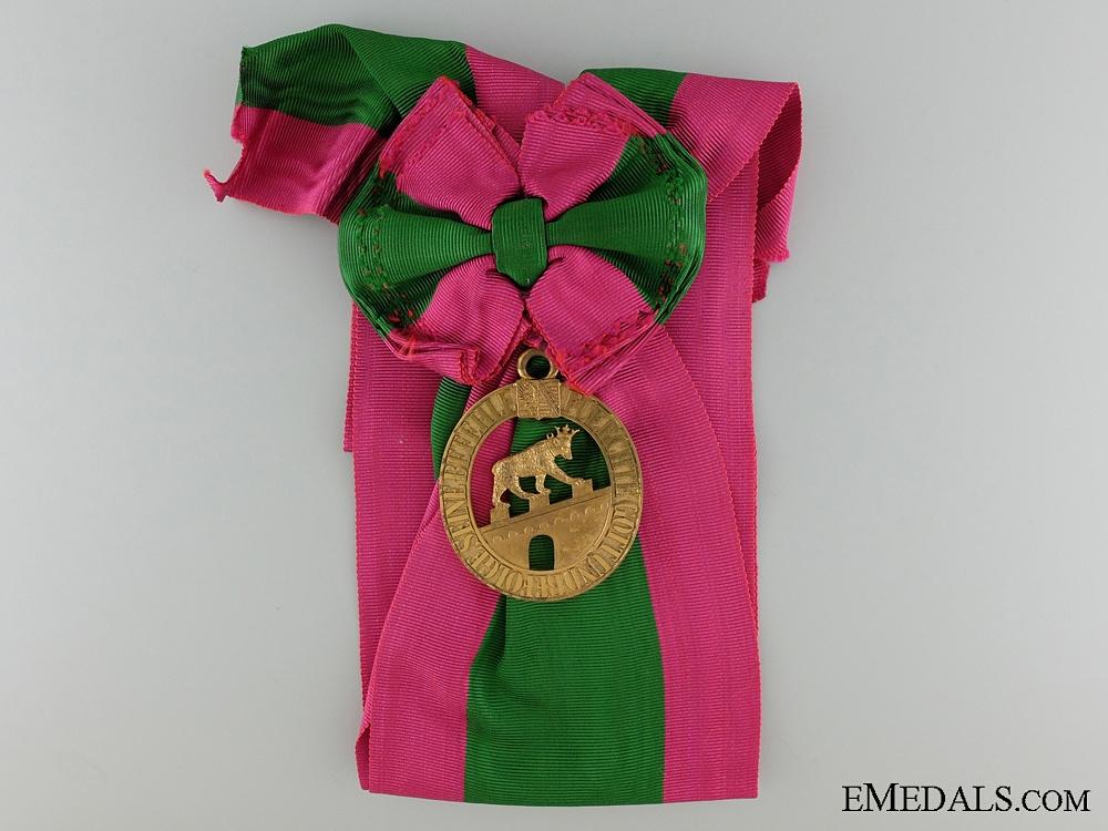 eMedals-The House Order of Albert the Bear: Grand Cross