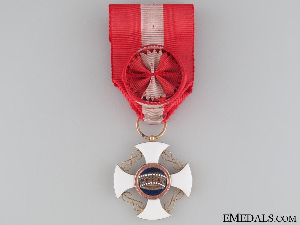 eMedals-The Italian Order of the Crown; Officer