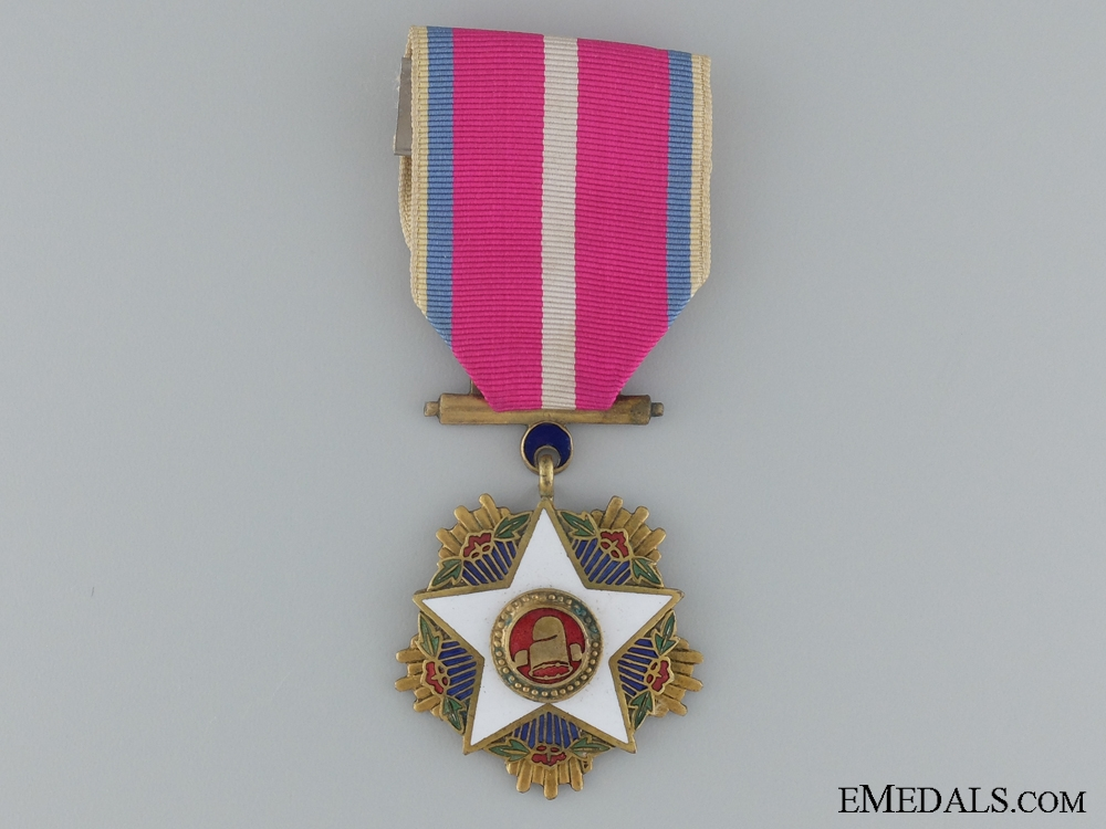 eMedals-The Korean Order of the White Star; Third Class