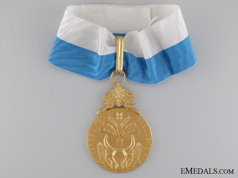 eMedals-The Merit Order of Madagascar; Commander's Neck Badge