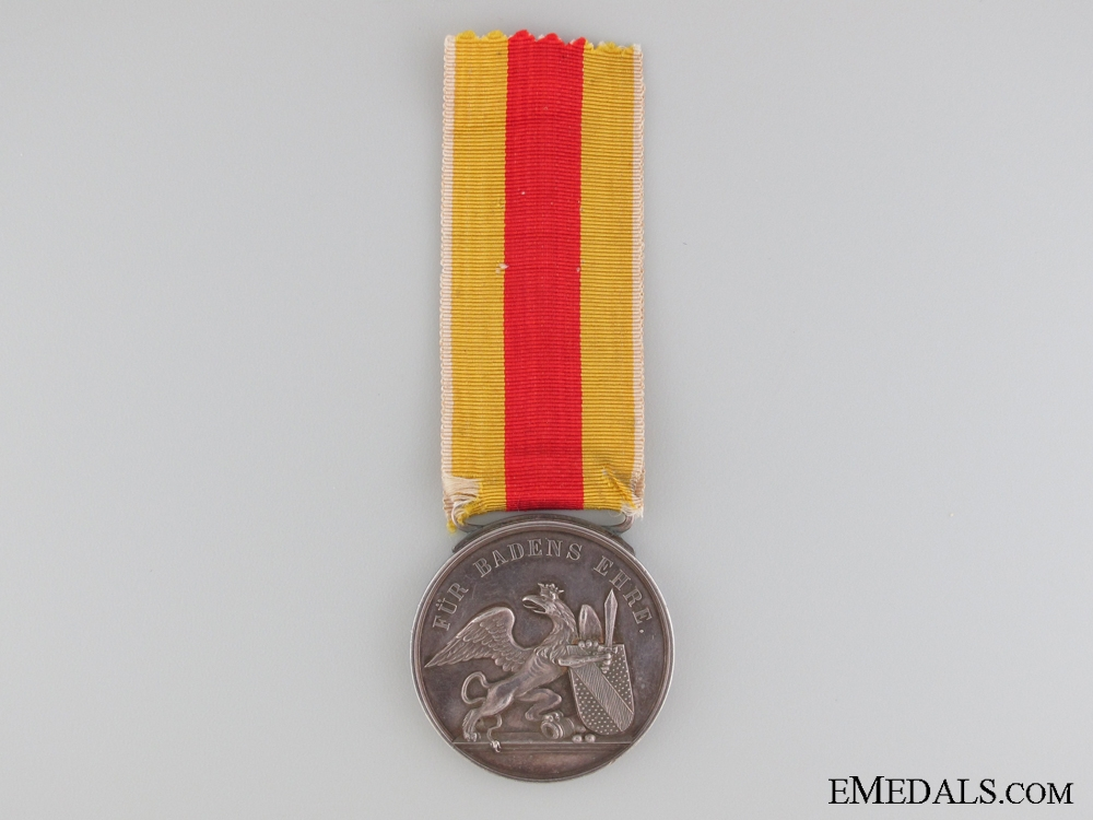 eMedals-The Military Karl Friedrich Order to   Sergeant Eduard Rupp