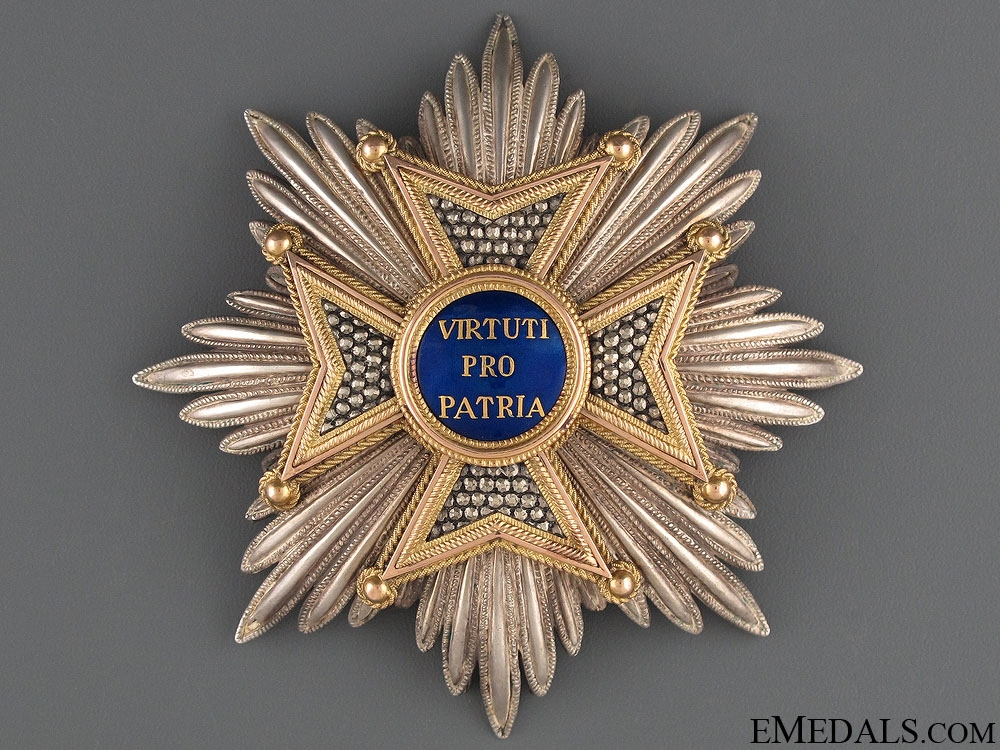 eMedals-A Bavarian Military Order of Max Joseph c.1840