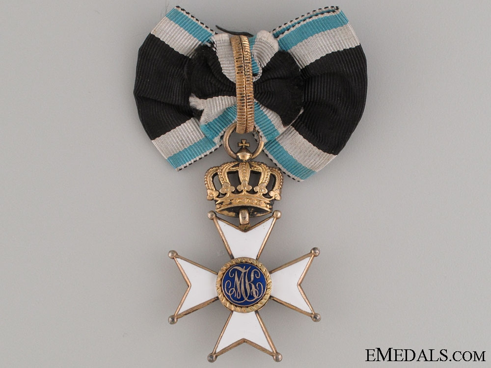 eMedals-The Order of Max Joseph to AH Commanding Officer