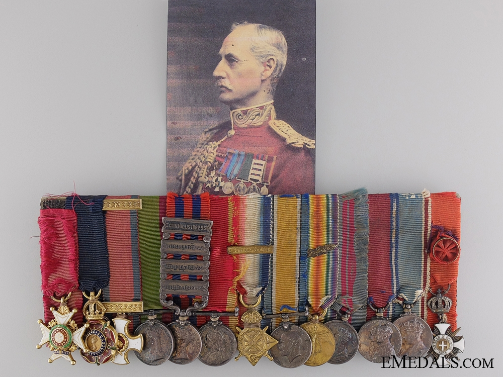 eMedals-The Miniature Awards of Lieutenant-General Sir Henry D'Urban Keary