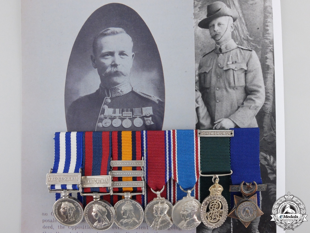eMedals-The Miniature Awards of Brigadier-General Winter; Royal Canadian Regiment