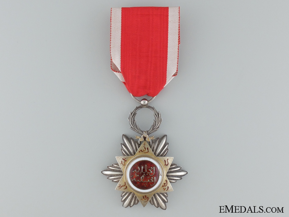 eMedals-The Moroccan Order of Nishan Hafiden; Knight
