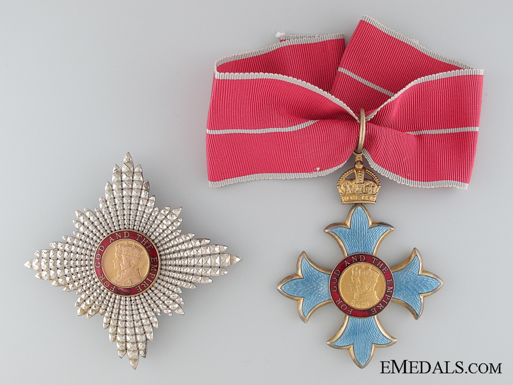eMedals-The Most Excellent Order of the British Empire K.B.E