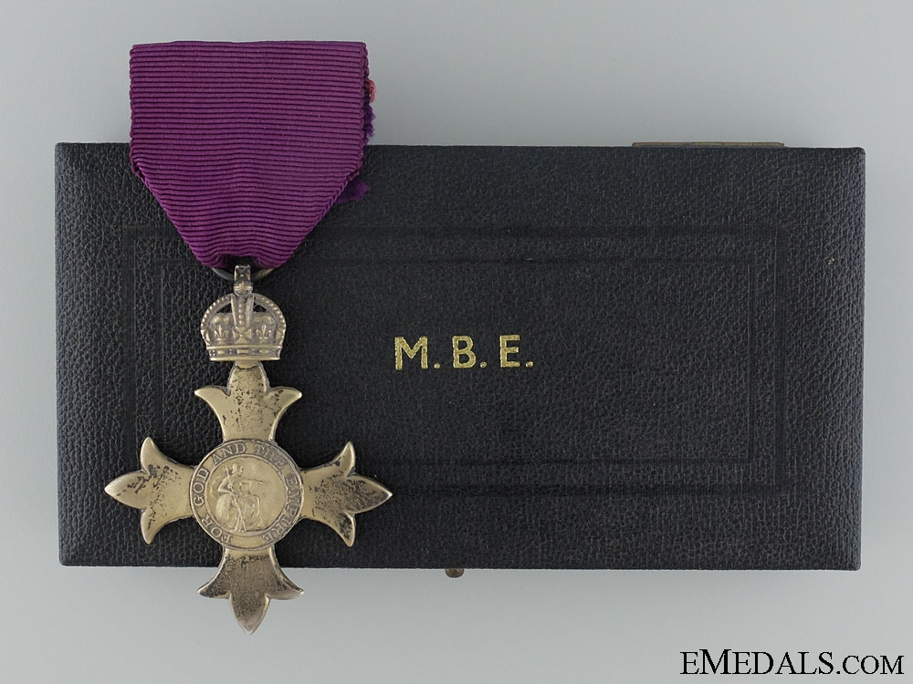 eMedals-The Most Excellent Order of the British Empire; 1918