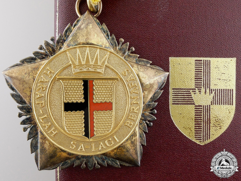 eMedals-Sarawak, British Protectorate. A Most Illustrious Order of the Star of Sarawak, Commander's Badge