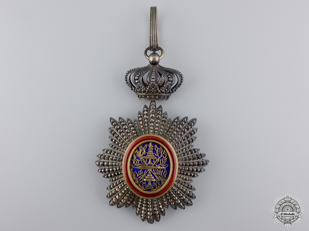 eMedals-The Order of Cambodia; Commander's Neck Badge