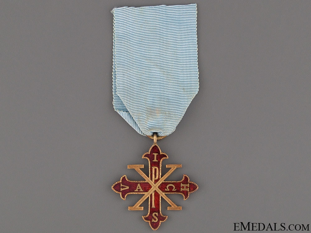 eMedals-The Order of Constantine of St.George - Knight