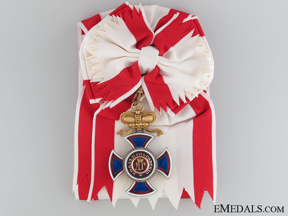 eMedals-The Order of Danilo by V.Meyer c.1900